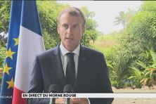Le chef de l'Etat au Morne-Rouge ( jeudi 27 septembre 2018)
