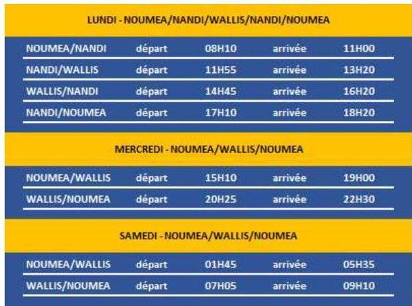 infog programme vols 2019 aircalin