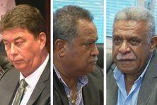 Thierry Santa, Samuel Hnepeune et Louis Mapou étaient candidats à la présidence du gouvernement.
