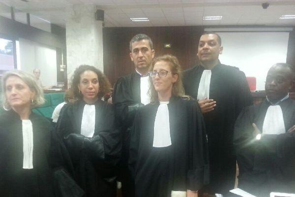 Les avocats de la défense