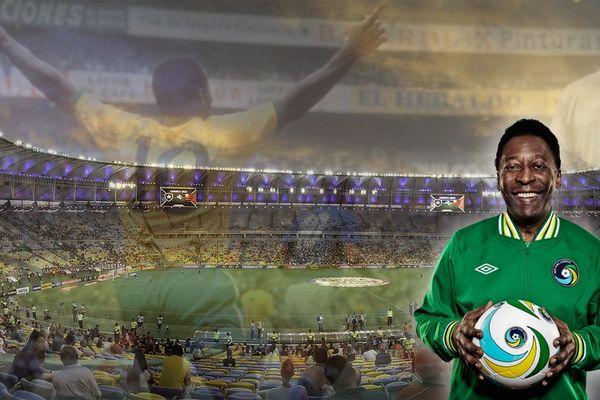 Pelé Stade Maracana