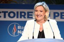 Marine Le Pen, la présidente du Rassemblement National après les résultats des élections européennes (dimanche 26 mai 2019).