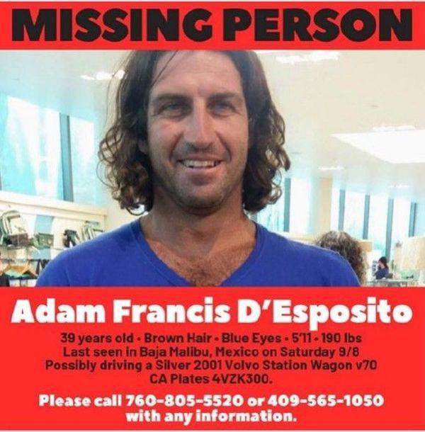 La disparition d'Adam d'Esposito