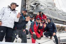 L'équipage du Kid of Ville de Nice sont arrivés dans le port de la commune du Morbihan ce mardi 22 juin 2021 après une traversée record entre Saint-Pierre et Lorient en 7 jours 17 heures 4 minutes 43 secondes
