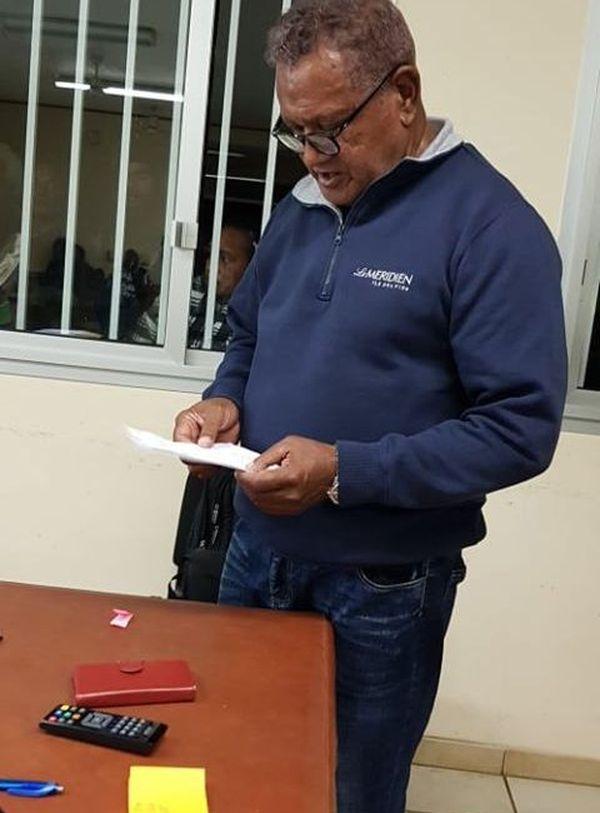 Christophe Vakié, municipales 2020, vainqueur à l'île des Pins, 28 juin 2020