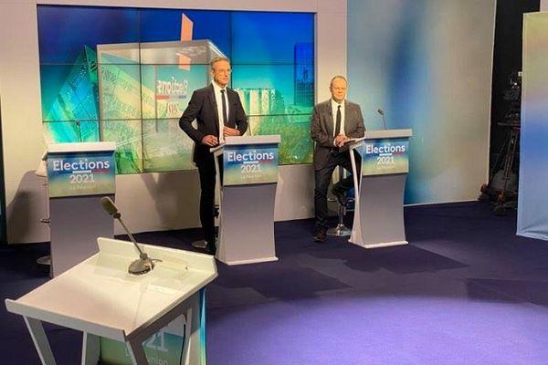 La grande soirée électorale de Réunion La 1ère.