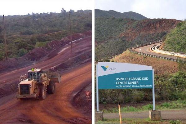 Les centres miniers de Tiebaghi et du Grand Sud