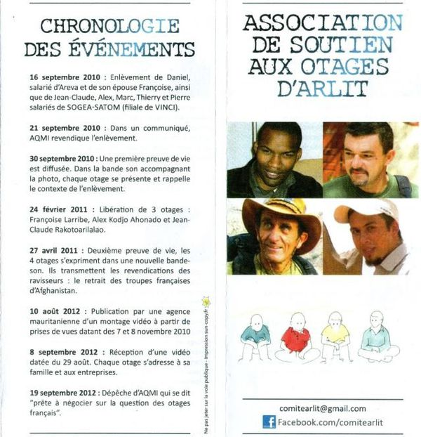 Doc association de soutien aux otages d'Arlit (Thierry Dol)