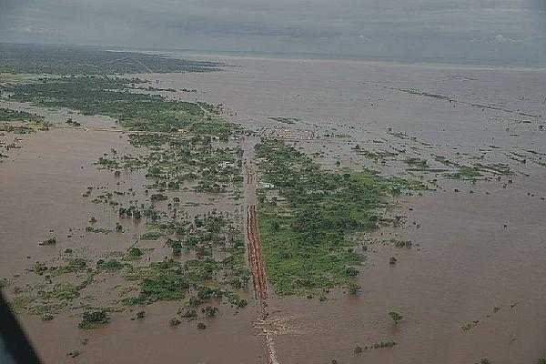 Le Mozambique inondé après le passage d'Eloïse 24 janvier 2021