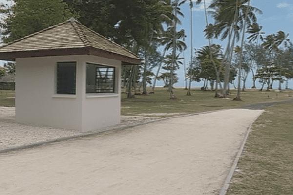 La plage du Club Med de Moorea réhabilitée/ Tiahura