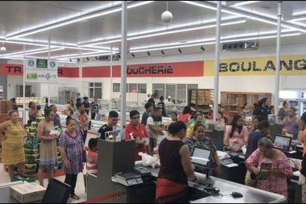 Ouverture du supermarché SEM