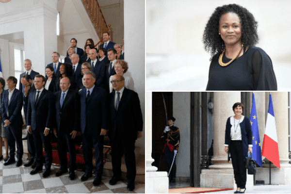Premier conseil des ministres gvt Macron