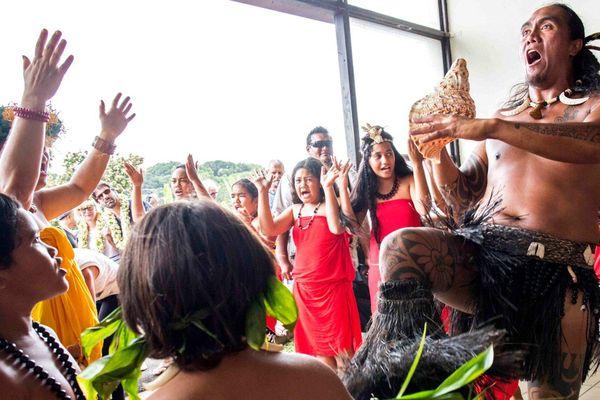 Rencontre avec les Taki Toa, les guerriers marquisiens de Tahiti