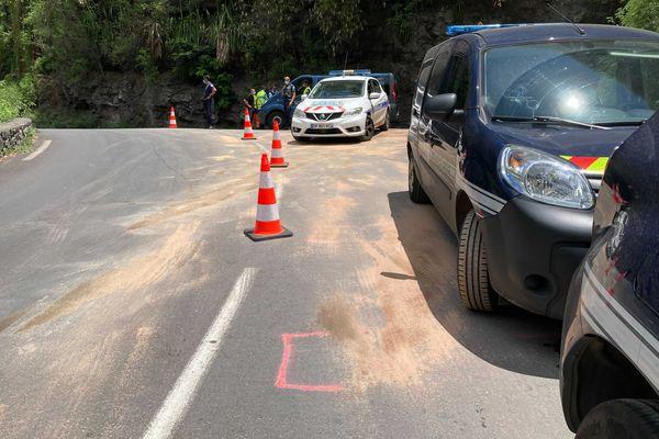 Le motard de 36 ans est décédé à Cilaos