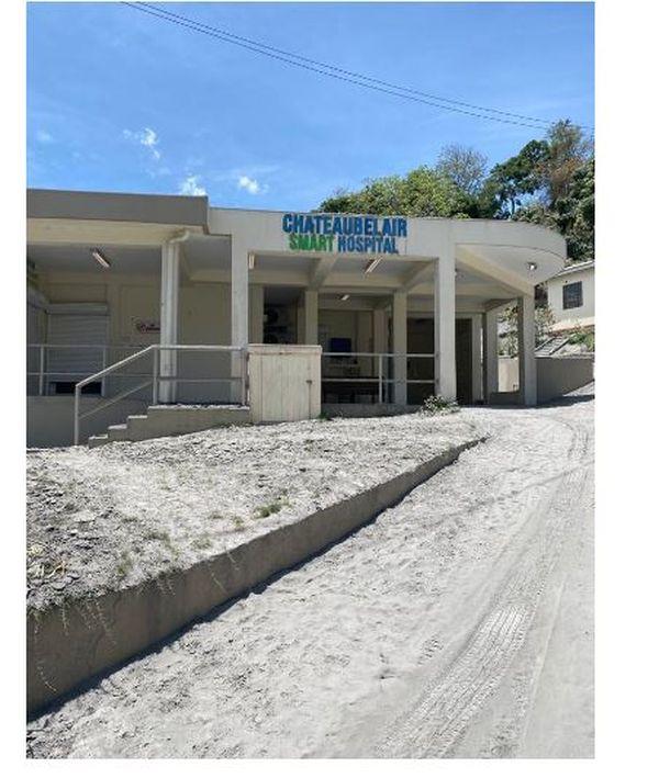 St. Vincent et les Grenadines hôpital Chateaubelair