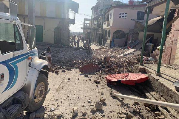 Tremblement de terre haïti