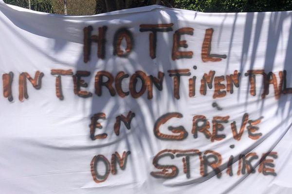 Début de grève à l'hôtel Intercontinental de Tahiti