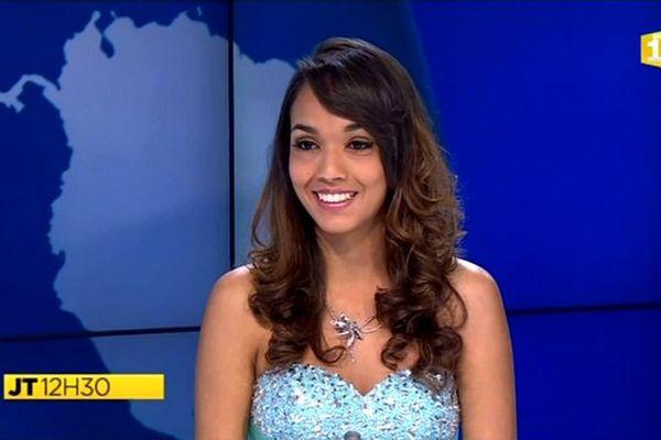 Miss Réunion 2015 : itw Vanessa Robert, candidate N°7