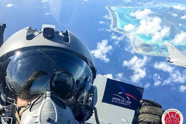 """""""Rafale"""" d'images au-dessus des îles polynésiennes"""