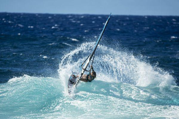 Photo Sarah Hauser windsurf