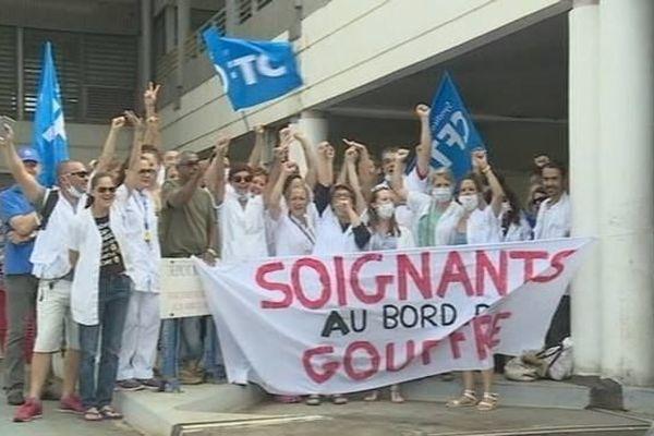 Grève Urgences CHU Sud