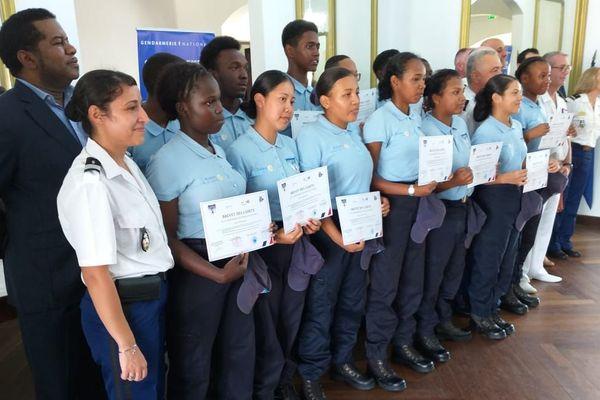 Première promo des cadets