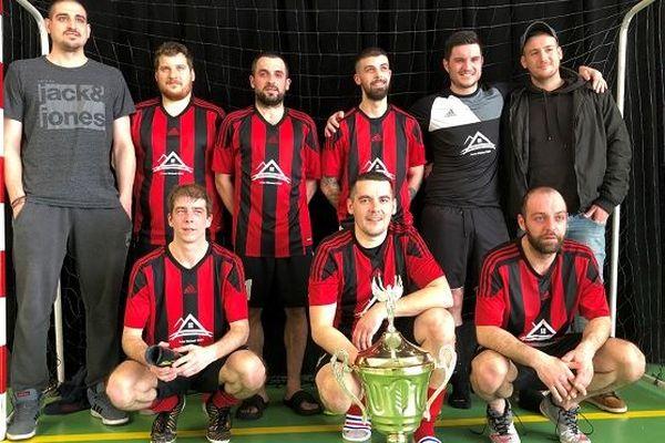 Mean Machine remporte la coupe de l'archipel de futsal