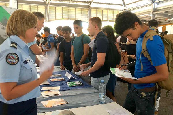 Ils étaient 1200 futurs étudiants à répondre à l'invitation de LOL. LOL comme L'Orientation des Lycéens en pleine phase de Parcours Sup.