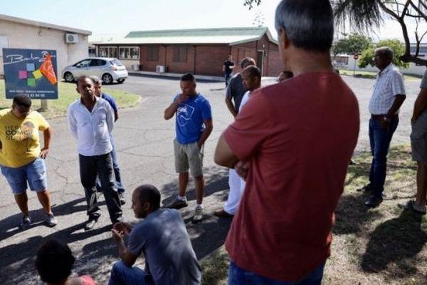 Les salariés de Bourbon Bois en grève illimitée en 2018.