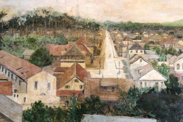 Cayenne au 17eme siècle