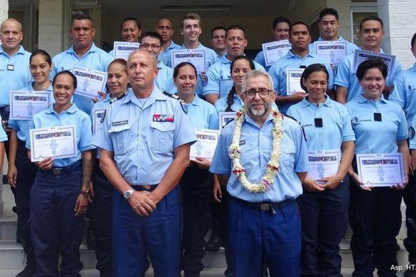 20 gendarmes adjoints de réserve prêtent serment