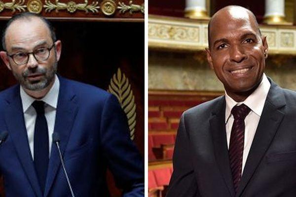 Olivier Serva et Edouard Philippe