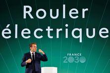 """Le Président de la République Emmanuel Macron présente le plan """"France 2030"""""""