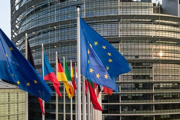 Parlement européen à Strasbourg