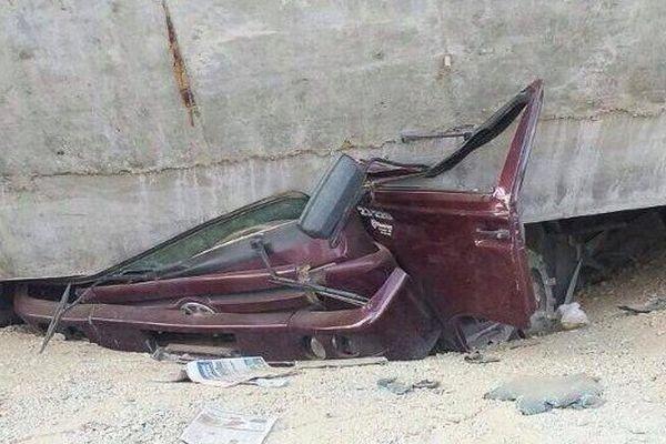bretelle autoroute effondrée présil