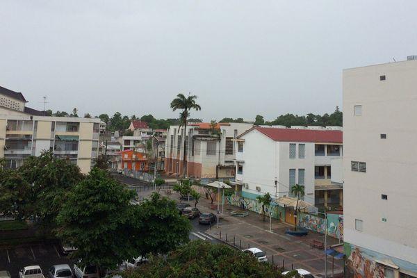Pluie à Pointe-à-Pitre