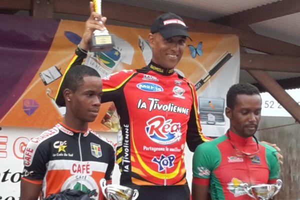 Hervé Arcade vainqueur 2e étape Grand Prix Caron