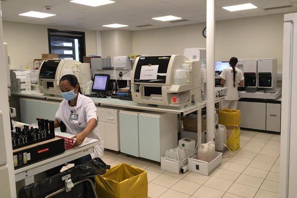 Le laboratoire du CHOG