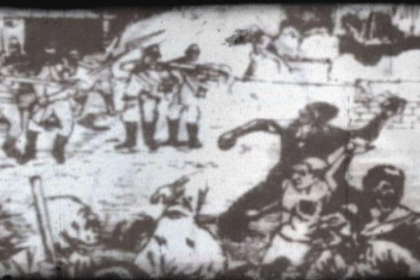 Le massacre de 1900