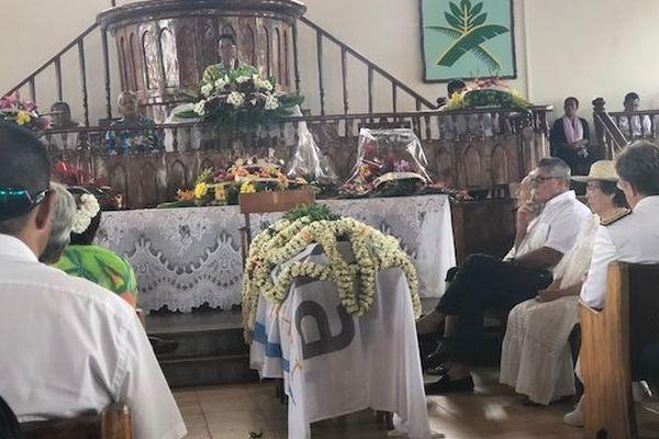 Obsèques de Rony Tumahai