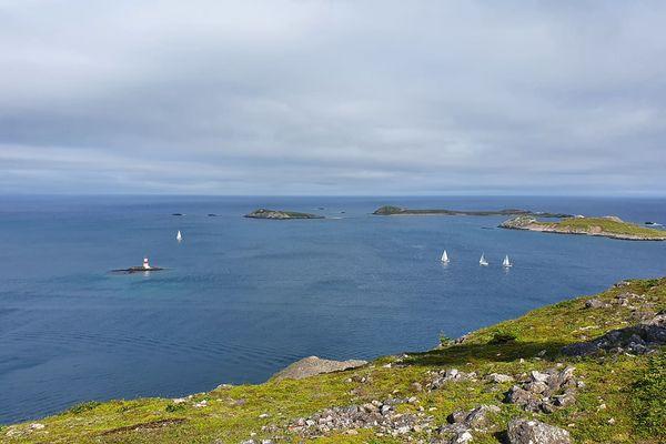 Voile tour de l'archipel