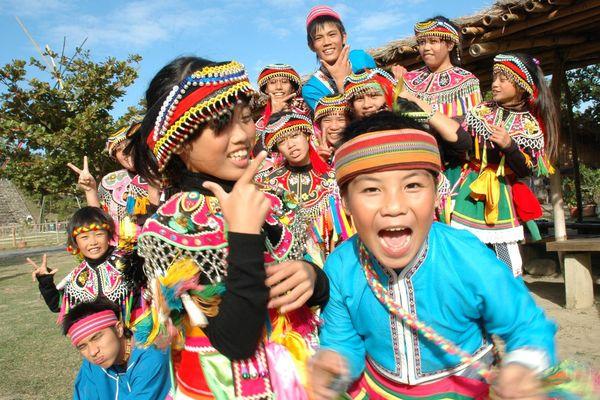 Enfants taïwanais