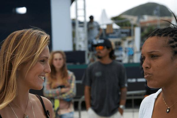Lucie et Jessica barra da Tijuca