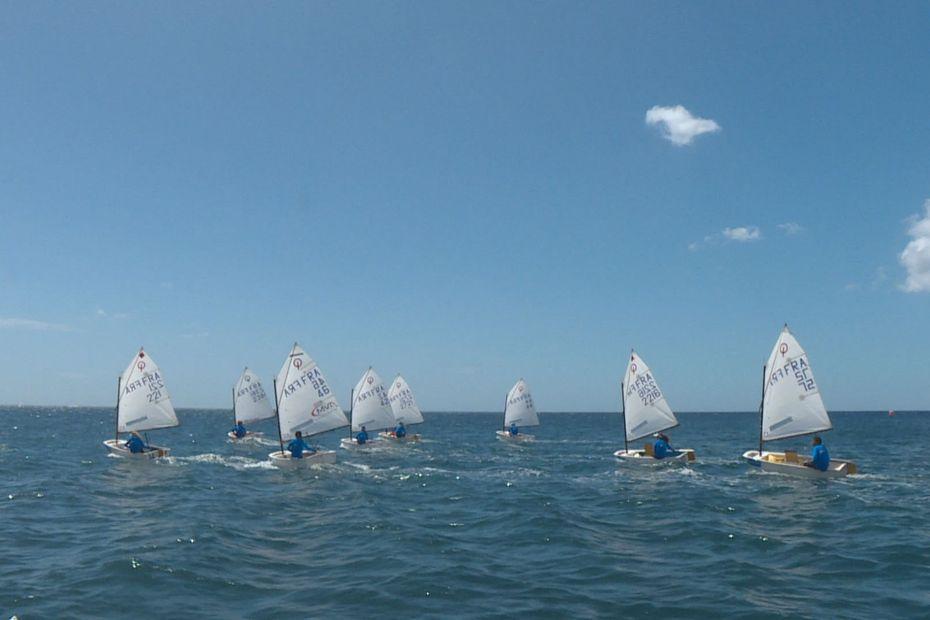 Vent très léger de 8 à 10 noeuds pour les premières manches de la semaine nautique de Schoelcher - Martinique la 1ère