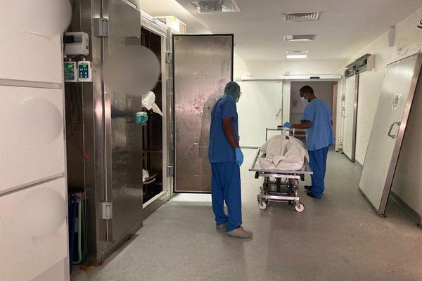 Morgue de l'hôpital
