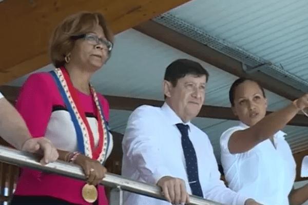 Patrick Kanner en visite en Guyane