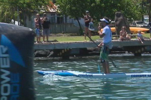 Paddle Sup Taaroa Race Steeve Teihotaata