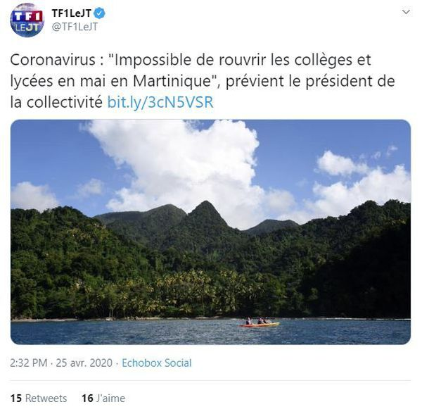 Tweet TF1
