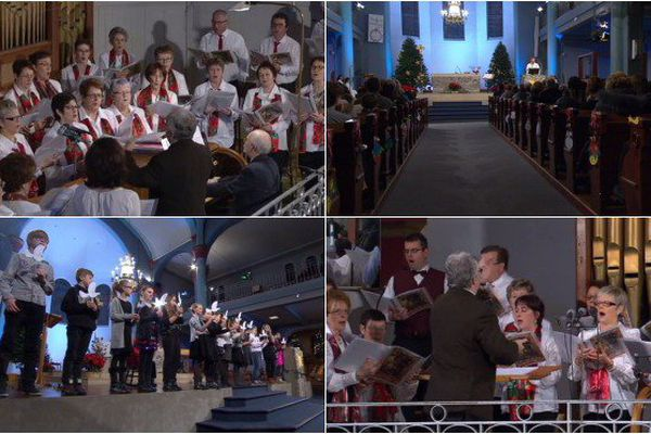 Un message de solidarité lors de la messe de Noël à Saint-Pierre