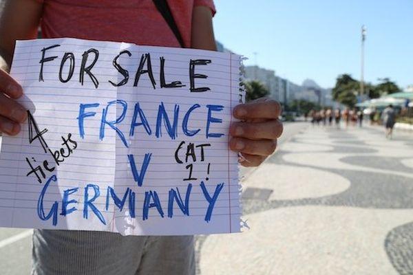 marché noir billet France allemagne